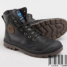 =CodE= PALLADIUM PAMPA SPORT CUFF WP 防水皮革軍靴(黑) 72991-057 男