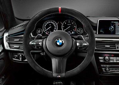 BMW M Performance Alcantara / Carbon 方向盤 For F15 F16 X5 X6