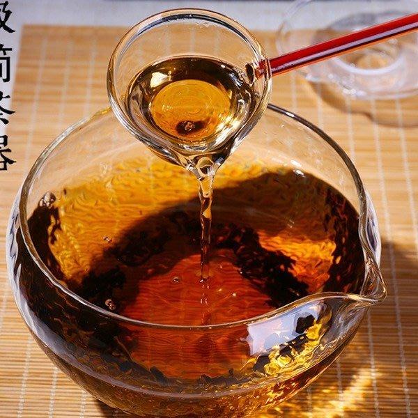 5Cgo【茗道】含稅539635556794 耐熱玻璃手工水洗茶洗水波錘目紋乾泡碗日式小水盂公道杯茶海茶壺分茶器茶湯