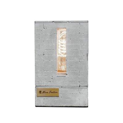 【曙muse】水泥透光型燈座 造型 Loft 工業風 咖啡廳 民宿 餐廳 居家擺設 文創 原創 設計 夜燈