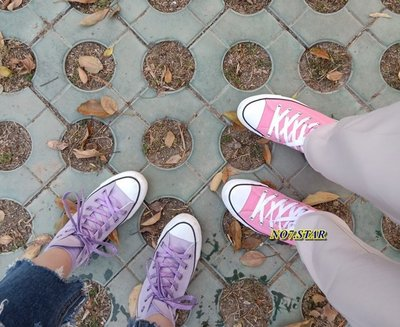 19S CONVERSE ALL STAR PASTELS HI 高筒 日本限定 馬卡龍 淡粉 淺黃 粉紫 糖果色 女鞋