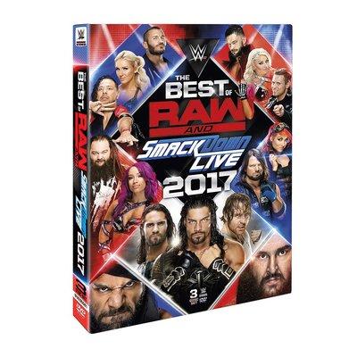 ☆阿Su倉庫☆WWE摔角 The Best of Raw and SmackDown 2017 DVD 2017精選專輯