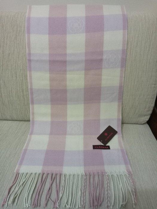 天使熊雜貨小舖~日本CLATHAS 山茶花圍巾 日本製   全新現貨