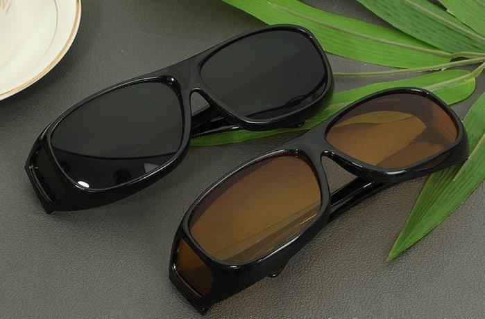全新HD Vision Wrap Arounds多功能眼鏡 2副