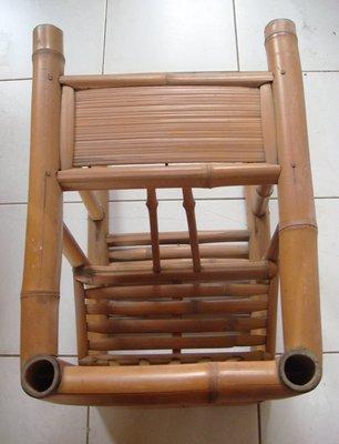 【旺來】早期竹長板凳合併兒童餐椅