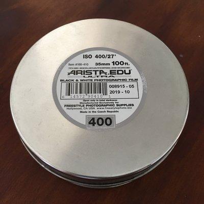 【菲林空間】Arista EDU ISO400  35mm黑白底片(100呎)