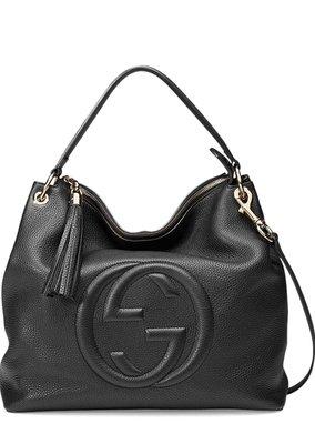 Gucci Soho Large Tote Bag 雙G logo 流蘇包