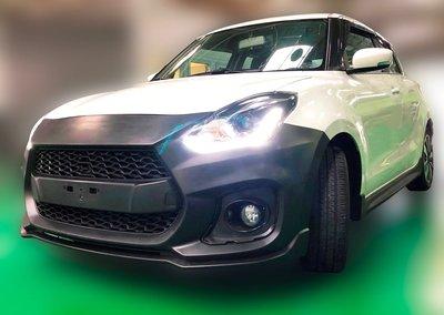 法克斯 2018 New SUZUKI Swift Sport 全車包圍套件PP材質、Sport尾翼