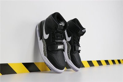 "Don C x Jordan Legacy 312 ""Black Cement"" 休閒運動 籃球鞋 AV3922-001 男鞋"