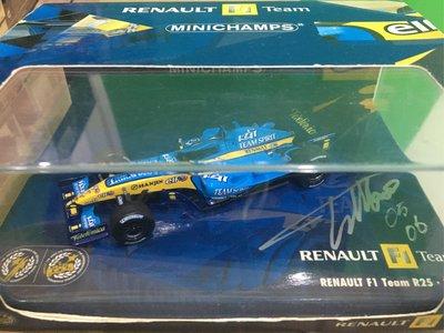 1:43 Renault F1 R23,R24,R25,R27 team box / Dealer boxes x4