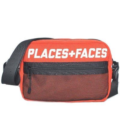 Places + Faces Pouch Bag 3M Logo經典肩背包反光側背包帆布小包 紅色 現貨【BoXhit】