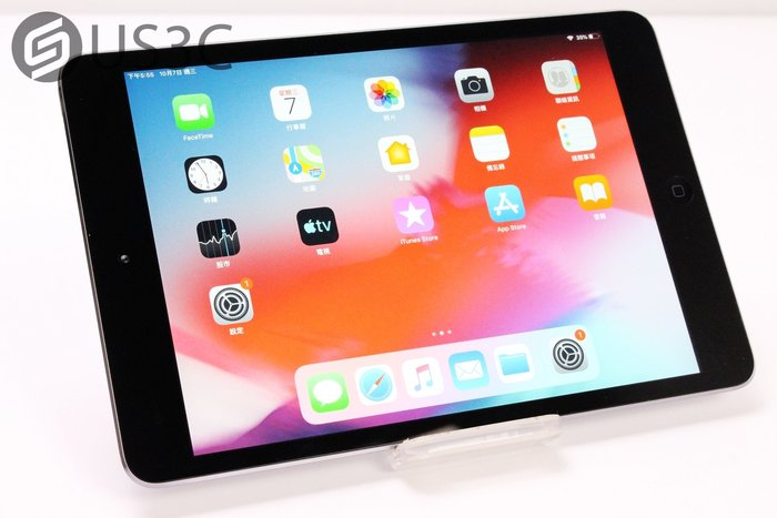 【US3C-台中店】【一元起標】公司貨 Apple iPad mini 2 太空灰 16G WiFi 二手平板