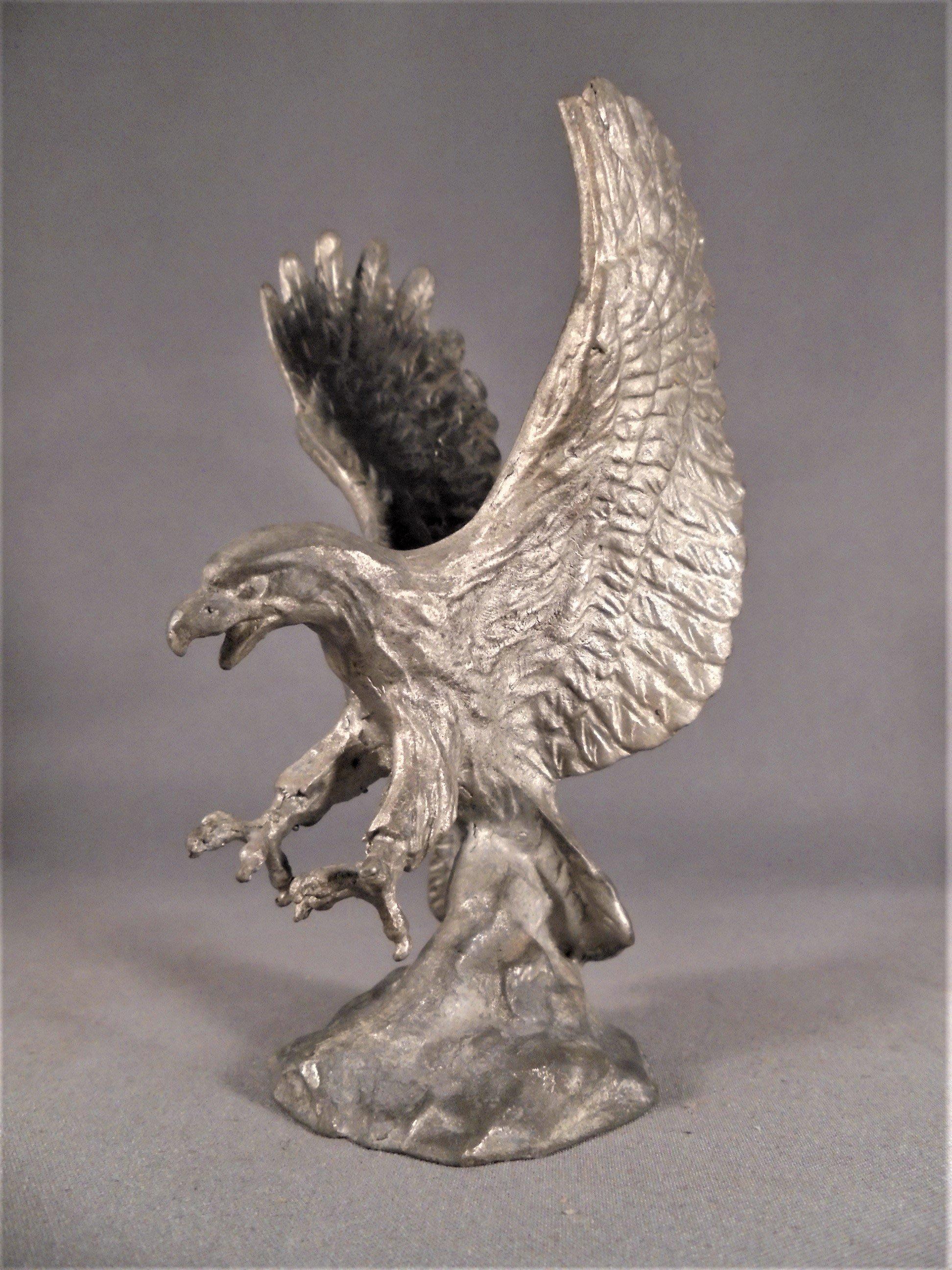 錫雕~ 老鷹 (印尼製)