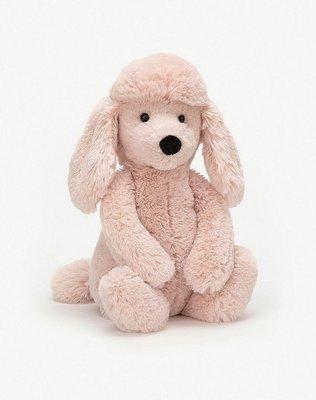 (預購)英國 JELLYCAT Bashful poodle medium soft toy 貴賓狗 31cm