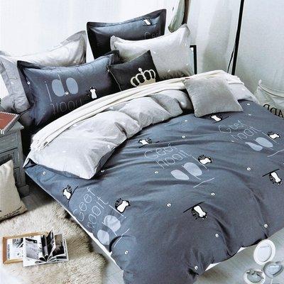 GiGi居家寢飾生活館~臺灣製 100%舒柔棉磨毛超細纖維/天絲絨/天鵝絨 單人 3.5尺 床包組-三隻松鼠