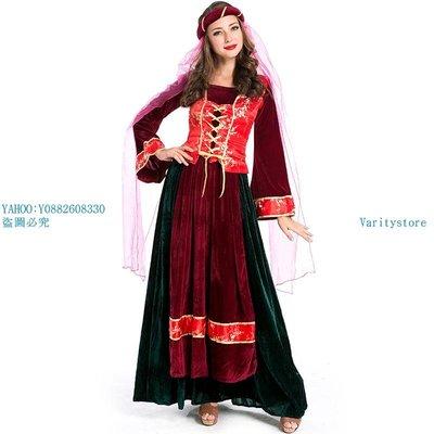 Varitystore萬圣節cosplay波斯女主人服熱賣款游戲制服 歐洲中世紀阿拉伯公主服
