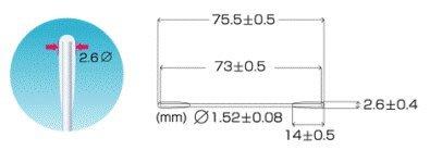 日本 2.5mm光纖擦拭棒 雙頭光纖無塵擦拭棒 無塵清潔棒 擦拭棒 SC FC ST 光纖工具 現貨供應