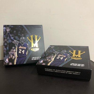 Kobe Bryant 英雄惡棍2015-2016 Panini 珍藏紀念卡盒 球卡