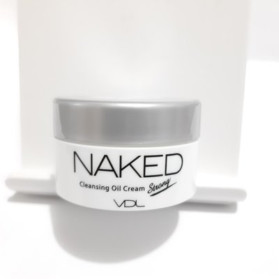 VDL Naked Cleansing Oil Cream Strong 淨膚清爽深層卸妝膏 10ml