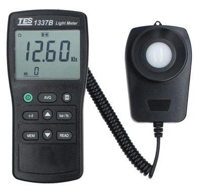 【電子超商】含稅有發票 TES泰仕 TES-1337B 數位照度計 光強度
