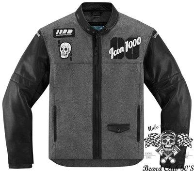 ♛大鬍子俱樂部♛ ICON®1000 Vigilante Stickup Textile 美國 骷髏 護具 夾克 防摔衣