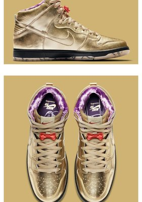 "全新正品 Humidity x Nike SB Dunk High ""Trumpet"" AV4168-776"