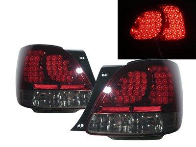 415卡嗶車燈 LEXUS 凌志 GS系列 GS300 S160 2001-2005 四門車 LED 尾燈 紅黑