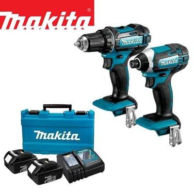 【花蓮源利】雙機套裝組 牧田 makita DLX2344 18V充電式 起子機DTD149Z+電鑽DHP485Z