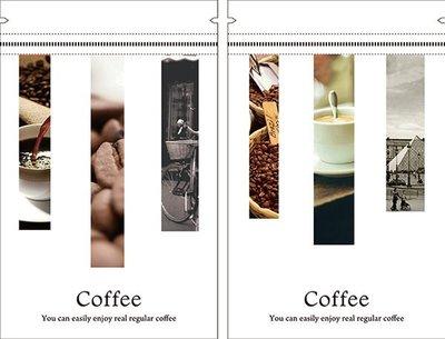 設計款咖啡夾鏈站立袋 0.5磅/16*25+4.5/50入/300元【三種風情款】