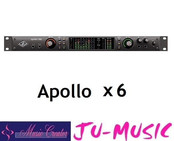 造韻樂器音響- JU-MUSIC - Universal Audio Apollo x6 Thunderbolt