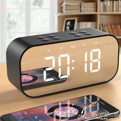 鬧鐘音樂鬧鐘創意學生靜音床頭夜光數字時鐘兒童鬧鈴電子鐘多功能