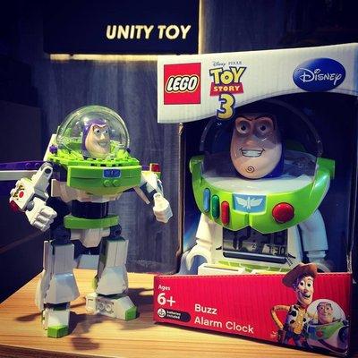 Lego Toy Story Buzz Lightyear Digital Clock (Unity Toy)