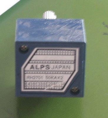 日本原裝ALPS電位器 50K 100K  W71 [278547-043]