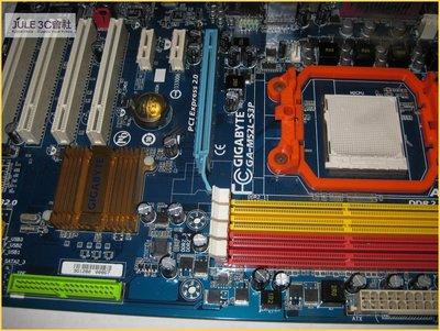 JULE 3C會社-技嘉 M52L-S3P nForce 630a/送CPU+記憶體/DDR2/AM2/AM3 主機板