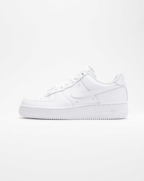 GOSPEL【  Nike Air Force 1 GS  】全白 女鞋 314192-117
