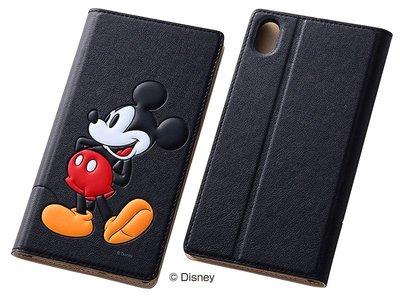 尼德斯Nydus~* 日本 Disney 迪士尼 Mickey 米奇 皮套 翻頁式 手機殼 Sony Z3+ Z4