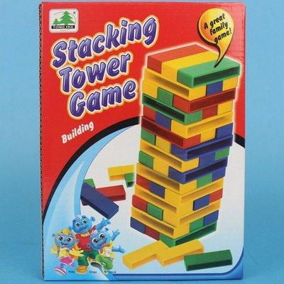 塑料彩色疊疊樂 8104B 疊積木遊戲/一盒入(促80)-CF123856