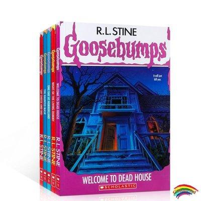 雞皮疙瘩(5冊)限量版 英文原版 Goosebumps Limited Edition  橋梁章節書 小學生英語閱讀25周年
