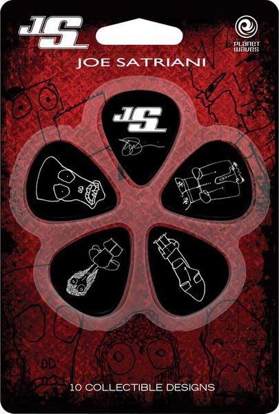 ☆ 唐尼樂器︵☆ Joe Satriani 簽名塗鴉烏克麗麗/木吉他/民謠吉他/電吉他/電貝斯 Bass 彈片 Pick
