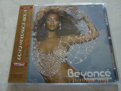 *日版CD--BEYONCE碧昂絲 -- DANGEROUSLY IN LOVE( 附側標)