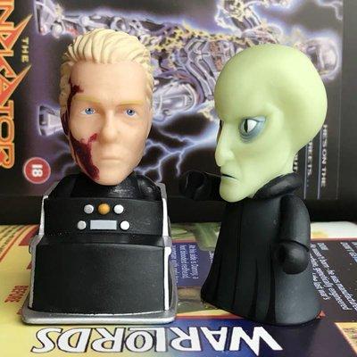 絕版老玩具TITAN 星際迷航 Star Trek  Pike Balok 公仔模型玩具