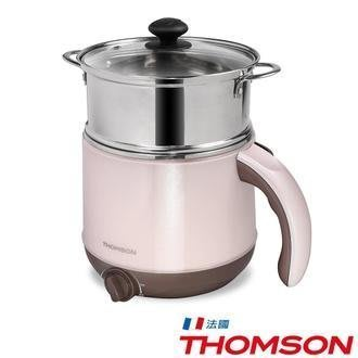 【MONEY.MONEY】THOMSON湯姆笙雙層防燙不鏽鋼多功能美食鍋 TM-SAK14