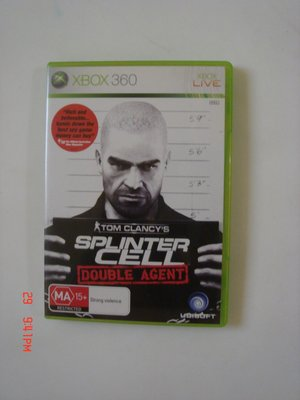 XBOX360 縱橫諜海 雙面間諜 (ONE可玩)splinter cell double agent