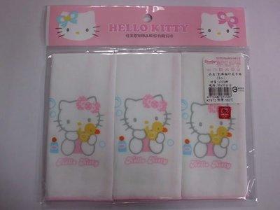 GIFT41 4165本通 三重店 凱蒂貓 HELLO KITTY KT 正版授權 商品 印花手帕