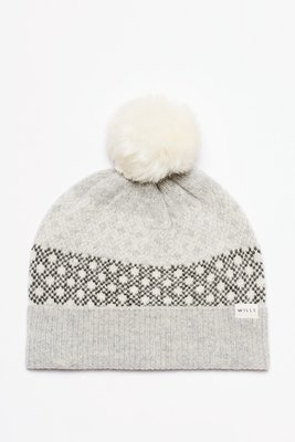 MISHIANA 英國品牌 JACK WILLS DRYSDALE POM POM FAIRILSE KNIT HAT