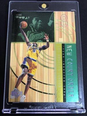 🐍1999-00 Upper Deck Hardcourt New Court Order #NC8 Kobe Bryant