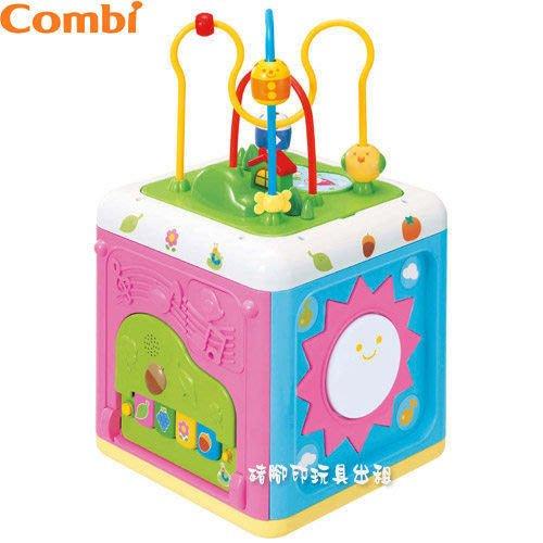 °✿豬腳印玩具出租✿°康貝 Combi 魔法益智音樂盒(二手/售)