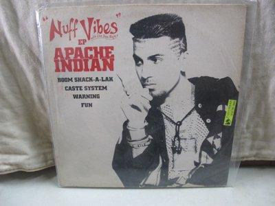 二手舖 NO.3928 黑膠 西洋 Nuff Vibes - APACHE INDIAN