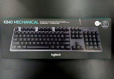 【MR3C】限量 含稅附發票【全新公司貨】Logitech羅技 K840 MECHANICAL 機械式有線鍵盤