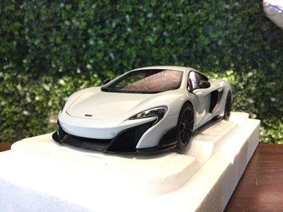 1/18 AUTOart McLaren 675LT Silica White 76046【MGM】